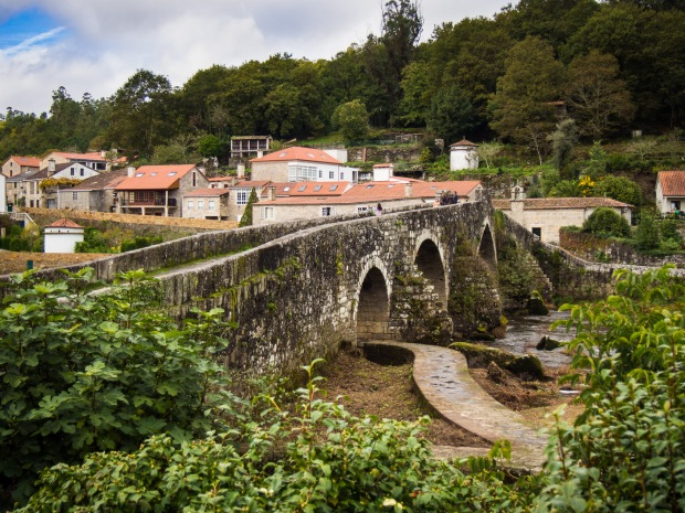 Day 34: Santiago de Compostela to Negriera (A Ponte Maceira)