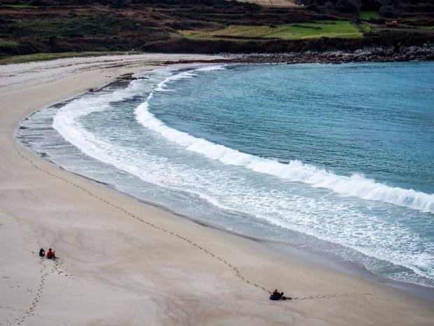 Day 38: Finisterre to Muxía (Praia Lourido)