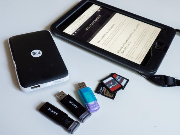 Complete image storage, image backup, image editing package.