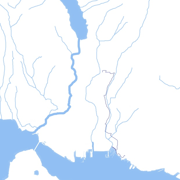 Mosquito Creek Map
