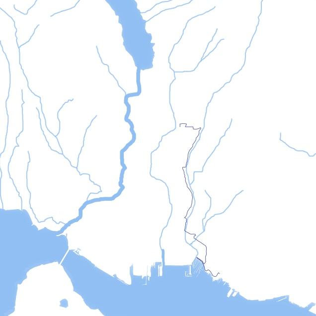 Mosquito Creek Map
