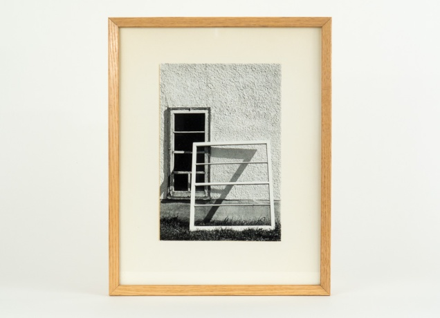 Winnipeg, an early darkroom print c. 1975