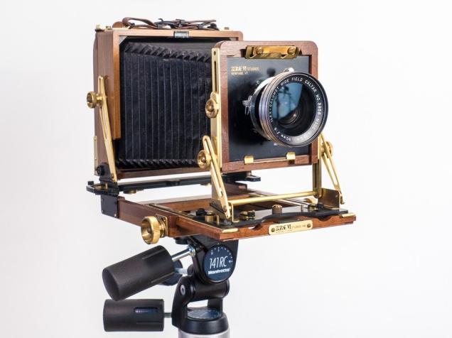 "Wista 4"" x 5"" Field Camera, unfolded"