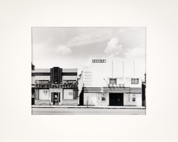 "Carman, Manitoba, from the Prairie Views Series (original 11"" x 14"" silver print on Oriental Seagull Paper), 1978"