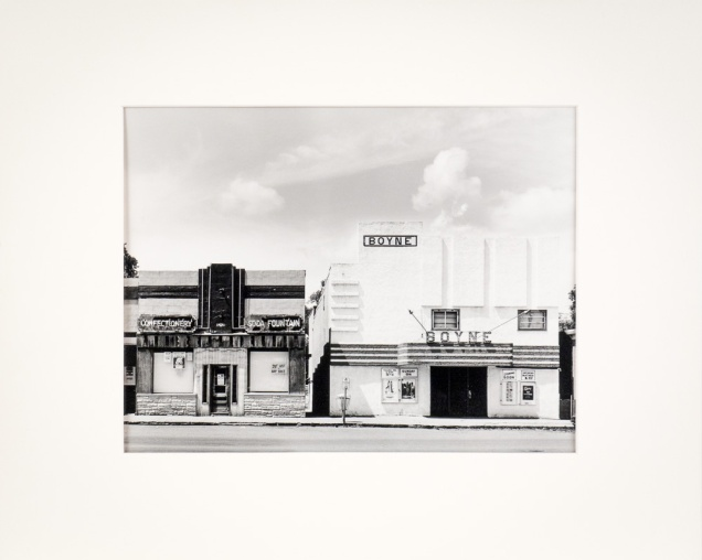 "Carman, Manitoba, from the Prairie Views Series (original 11"" x 14"" silver print on Oriental Seagull Paper), 1978"