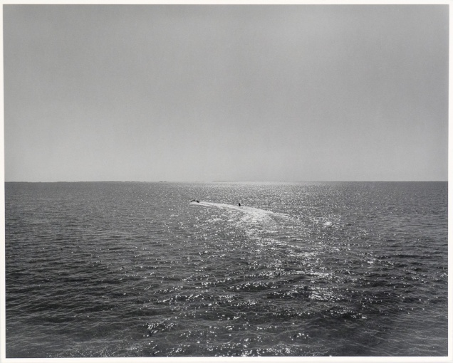 "The Lake 2, Panel Two, from The Lake series (original 16"" x 20"" silver print on Oriental Seagull paper), 1983"