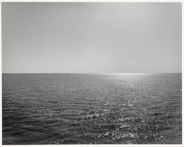 "The Lake 2, Panel Three, from The Lake series (original 16"" x 20"" silver print on Oriental Seagull paper), 1983"