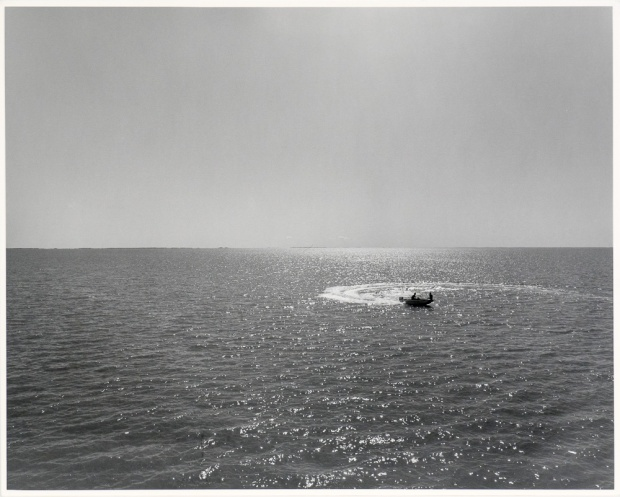 "The Lake 2, Panel Four, from The Lake series (original 16"" x 20"" silver print on Oriental Seagull paper), 1983"