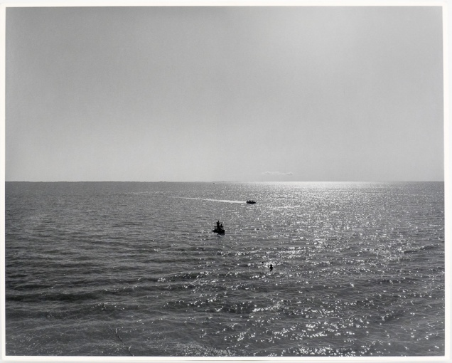 "The Lake 2, Panel Five, from The Lake series (original 16"" x 20"" silver print on Oriental Seagull paper), 1983"