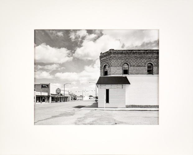 "Morden, Manitoba, from the Prairie Views Series (original 11"" x 14"" silver print on Oriental Seagull Paper), 1982"