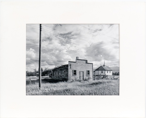 "Meleb, from the Interlake series (original 11"" x 14"" silver print on Oriental Seagull Paper), 1984"