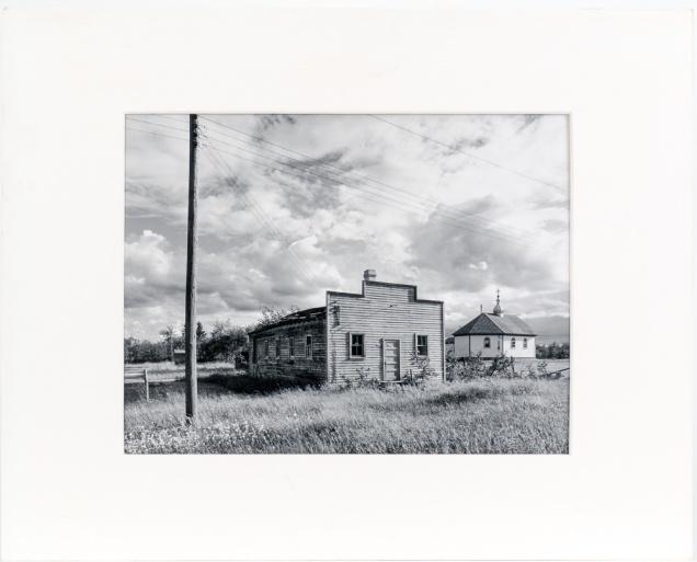"Meleb, from the Interlake series (original 11"" x 14"" silver print on Oriental Seagull Paper), 1984"