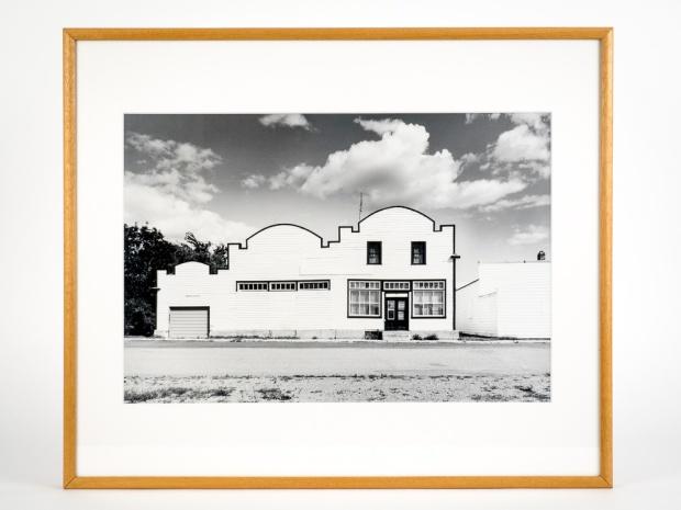 "Mariapolis, Manitoba, from the Prairie Views Series (original 11"" x 14"" silver print on Oriental Seagull Paper), 1982"