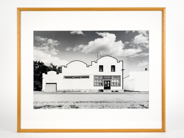"Mariapolis, Manitoba, from the Prairie Views Series (original 11"" x 14"" silver print on Oriental Seagull Paper), 1982"