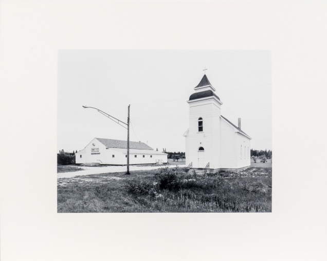 "Arnes, from the Interlake series (original 11"" x 14"" silver print on Oriental Seagull Paper), 1984"