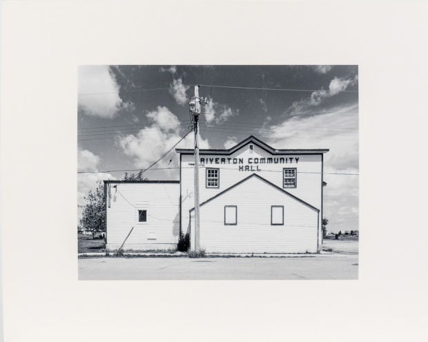"Riverton, from the Interlake series (original 11"" x 14"" silver print on Oriental Seagull Paper), 1984"