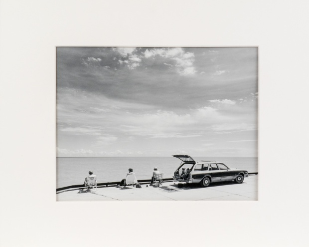 "Hnausa Dock, from the Interlake series (original 11"" x 14"" silver print on Oriental Seagull Paper), 1984"