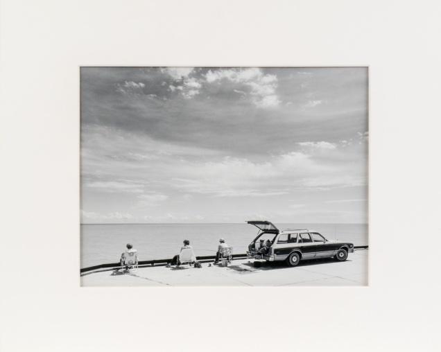 "Hnausa Dock, from the Interlake series (original 11"" x 14"" silver print on Oriental Seagull Paper), 1984"