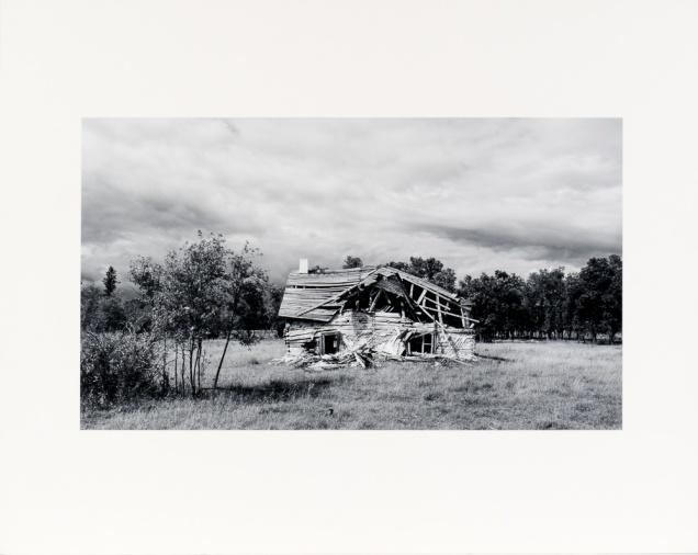 "Near Komarno, from the Interlake Series (original 11"" x 14"" silver print on Oriental Seagull Paper), 1984"
