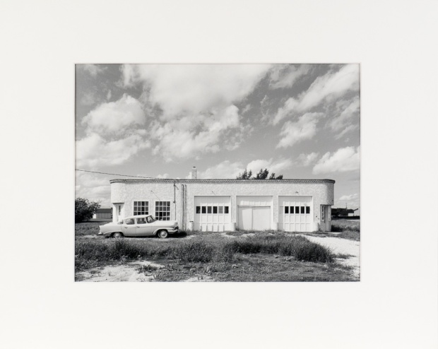 "Sanford, Manitoba, from the Prairie Views Series (original 11"" x 14"" silver print on Oriental Seagull Paper), 1982"