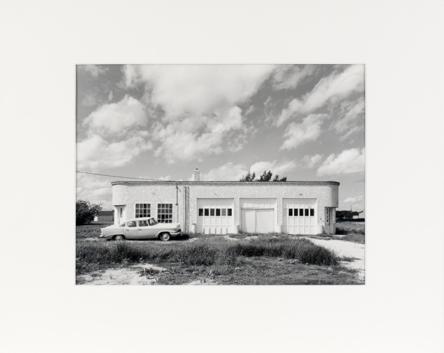 "Sanford, Manitoba, from the Prairie Views Series (original 11"" x 14"" silver print on Oriental Seagull Paper), 1982"