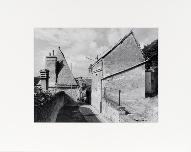 """Vouvray, France (original 11"""" x 14"""" silver print on Oriental Seagull Paper), 1985"""