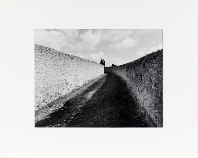 """The Loire Valley, France (original 11"""" x 14"""" silver print on Oriental Seagull Paper), 1985"""