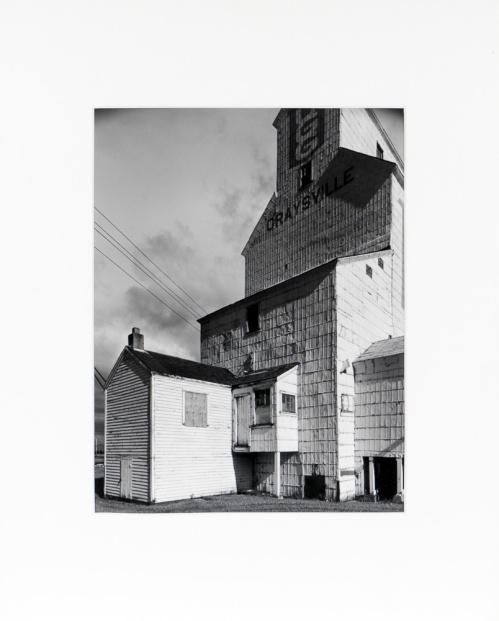 "Graysville, Manitoba, from the Prairie Views Series (original 11"" x 14"" silver print on Oriental Seagull Paper), 1982"