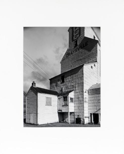 "Graysville, Manitoba, from the Prairie Views Series (original 11"" x 14"" silver print on Oriental Seagull Paper), 1982"