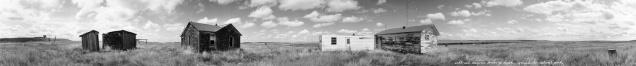 Walt and Marjorie Larson's Ranch, Grasslands National Park, Saskatchewan (from the series Grasslands)