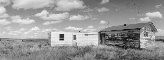 Detail, Walt and Marjorie Larson's Ranch, Grasslands National Park, Saskatchewan (from the series Grasslands)