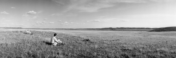 Detail, We Rest During a Walk Across Frenchman River Valley, Grasslands National Park (from the series Grasslands)