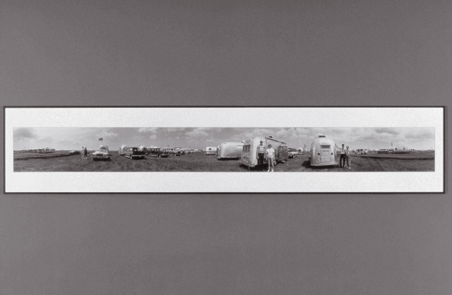 June 28, 1994. Members of the Vintage Airstream Club. (from the Silver series)