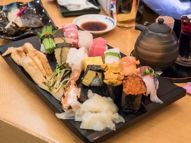 Sushi Zanmai, Tsukiji Fish Market area