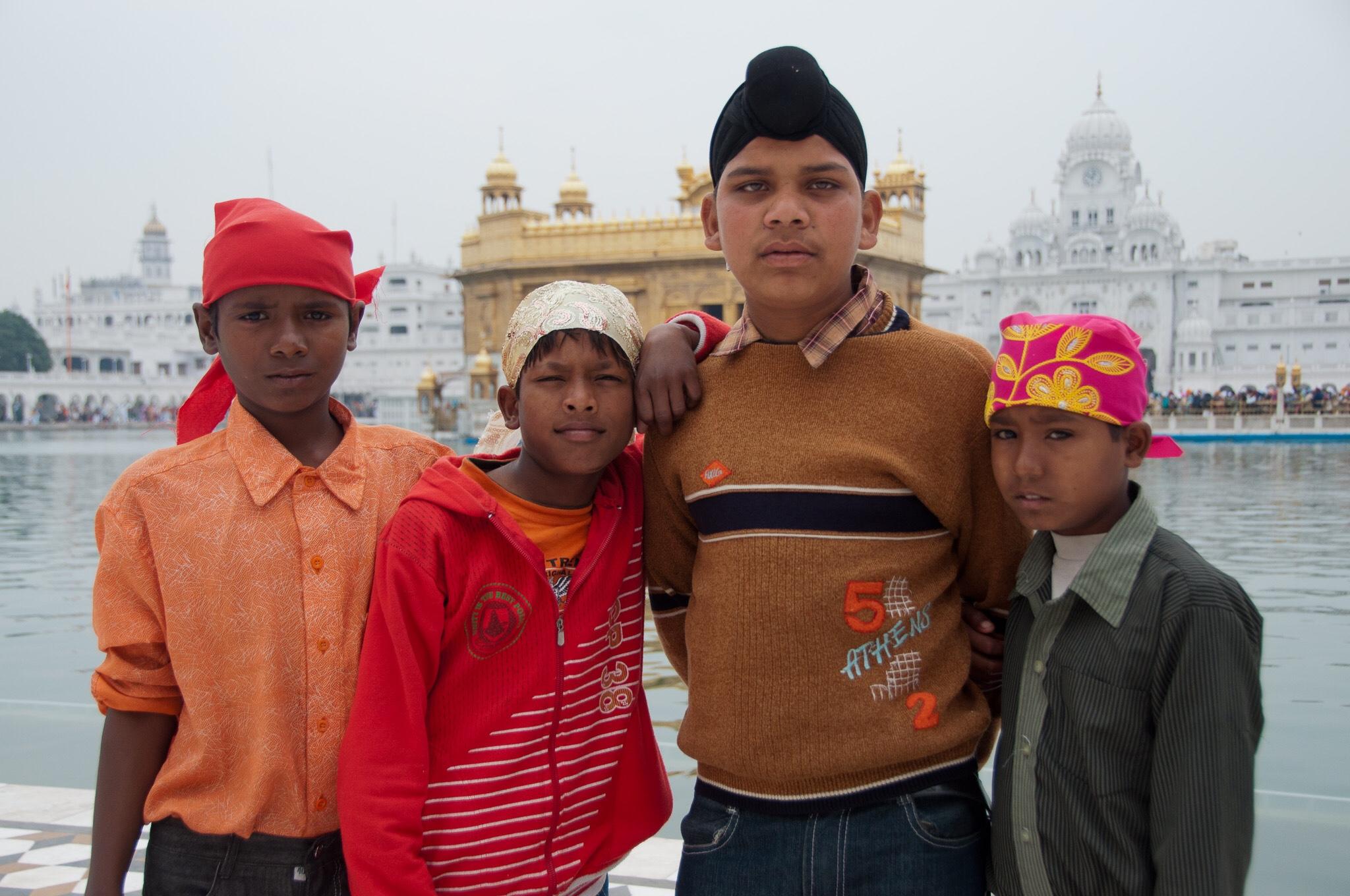 Golden Temple Gurdwara, Amritsar, India, 2011