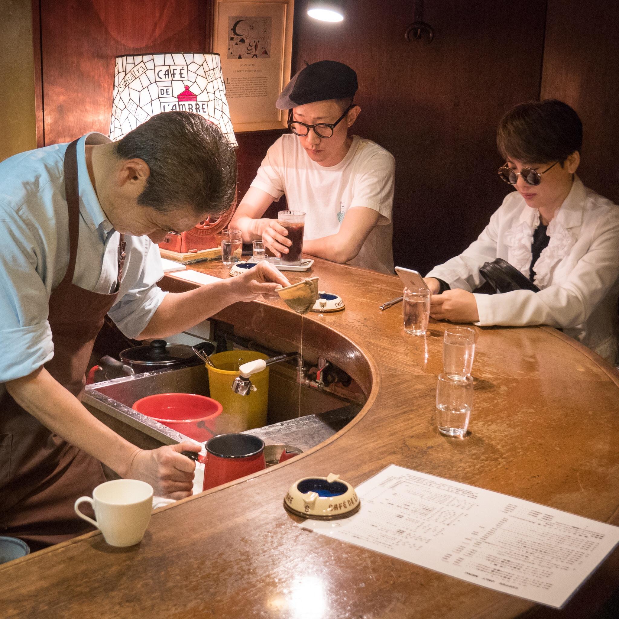Café de l'Ambre, Tokyo, Japan, 2017