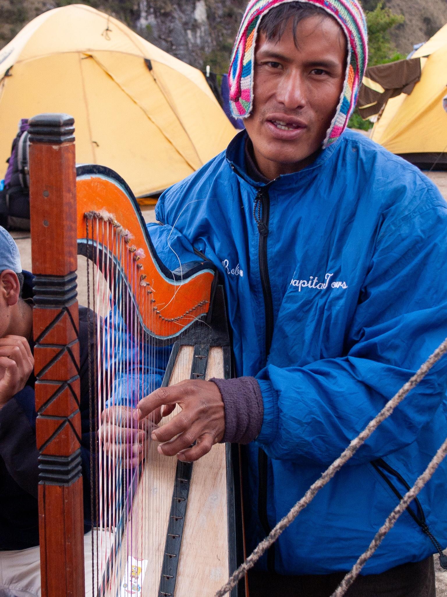 On the Inca Trail, Peru, 2004