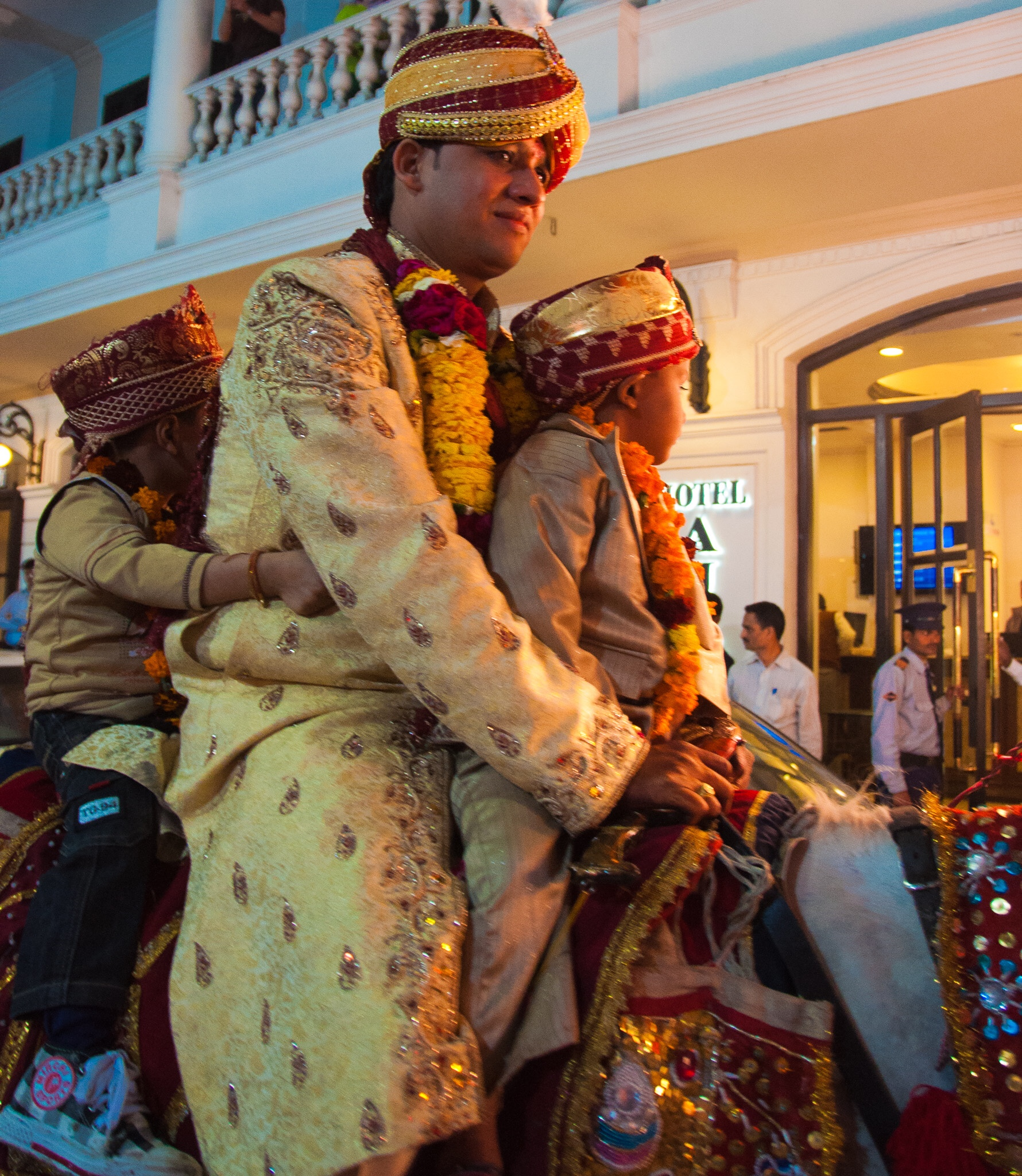 Wedding procession, New Delhi, India, 2011