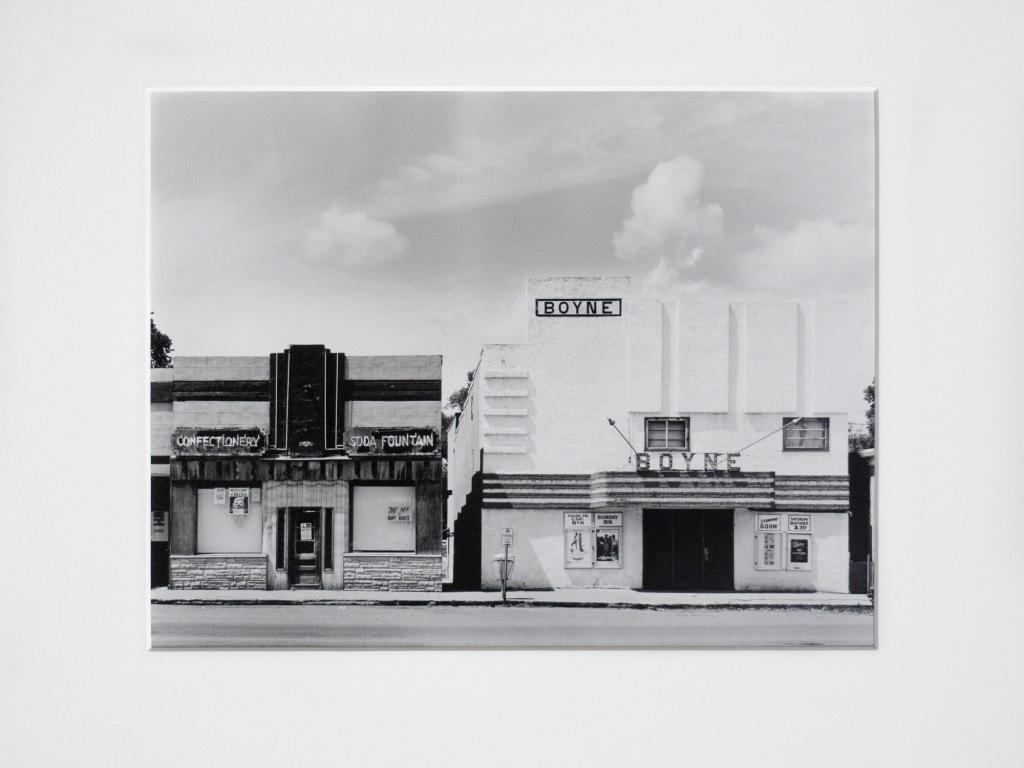 "Carman, Manitoba (1978). A print from a 4""x5"" negative."